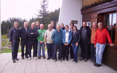 1. Ausschusssitzung auf der Hütte am 16.09.2017