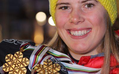 Doppel-Weltmeisterin – Katharina Liensberger